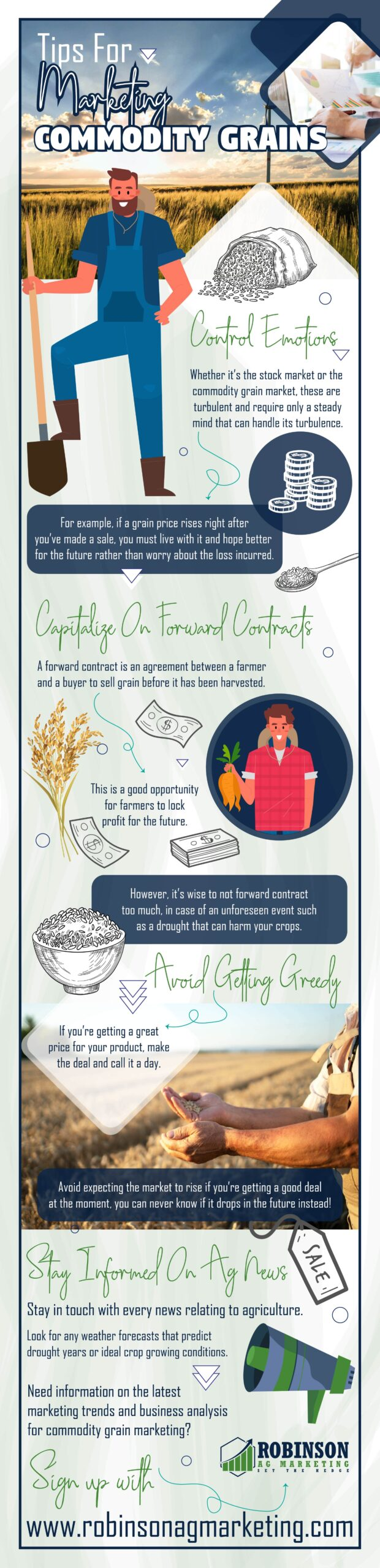 Tips For Marketing Commodity Grains